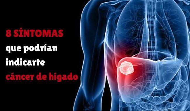 El cáncer de hígado es una de las variedades de esta enfermedad más complicadas. Te revelamos 8 síntomas que no debes ignorar.