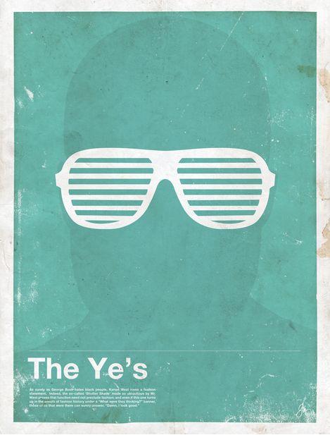 Miss Spectacles: Framework. Eyewear Made Famous  The Ye's  Kanye West
