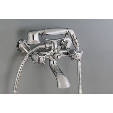 Aquatica Angelo Bath Set with Telephone Handshower - Named after the 'wings' on its handle, Angelo has a contemporary, classic good look.
