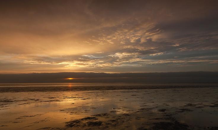 Golden Sunset  Hunstanton