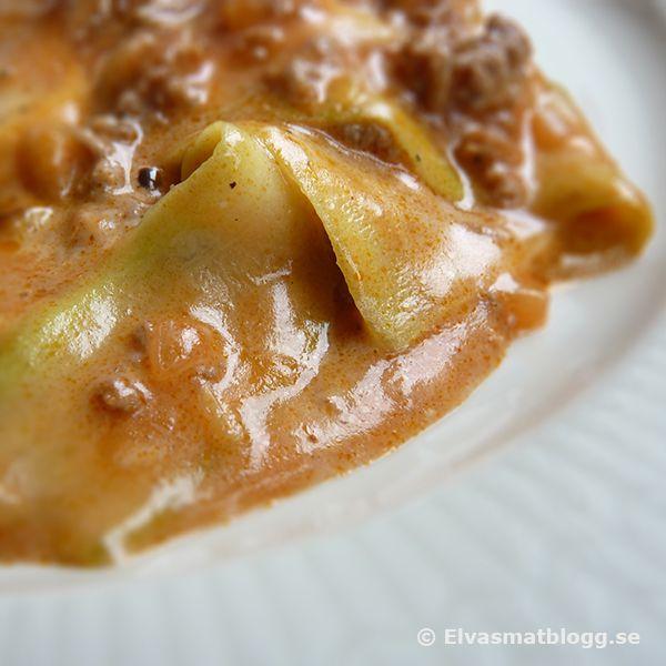 Zucchini lasagna without pasta