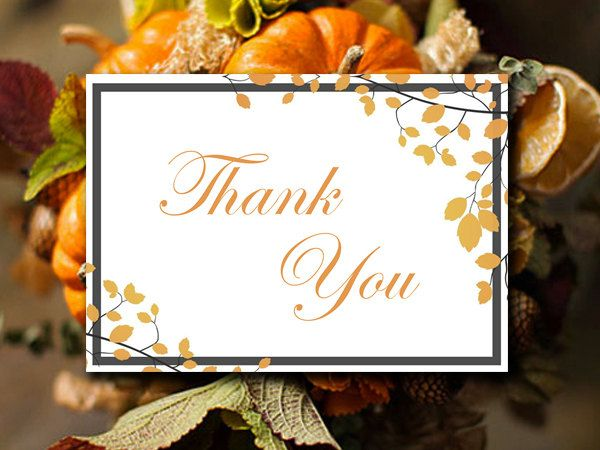 The 25 best Thank you card template ideas on Pinterest Thank