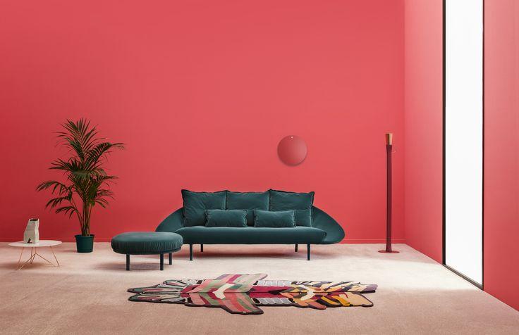 Welcome back home velvet!  #interior #sofas #living #homeideas #homedecor #design #interiordesign #miniforms #red #forthehome