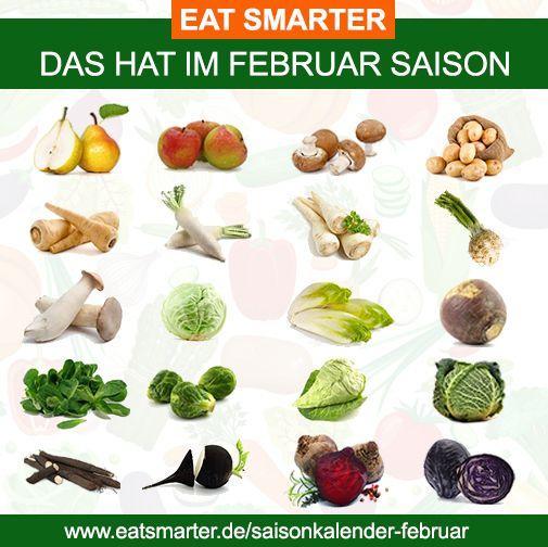 Think global, eat local    Wir zeigen dir, was du diesen Monat aus heimischem Anbau genießen kannst ▸ http://eatsmarter.de/saisonkalender-februar  Teilt dies auf euren Pinboards, um gemeinsam das Bewusstsein für regionalen Anbau und Konsum zu stärken.