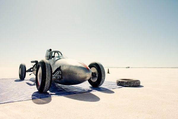 Top 12 des voitures rétro sur le lac salé de Bonneville, de belles photos de Christopher Wilson