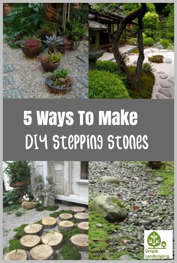 5 Ways To Make Diy Stepping Stones Molds In 2020 Stepping Stones
