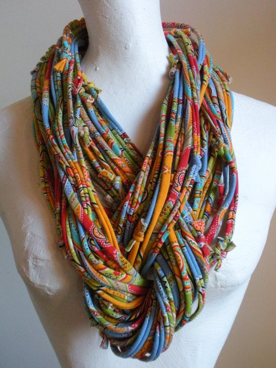 new take on the tshirt scarf