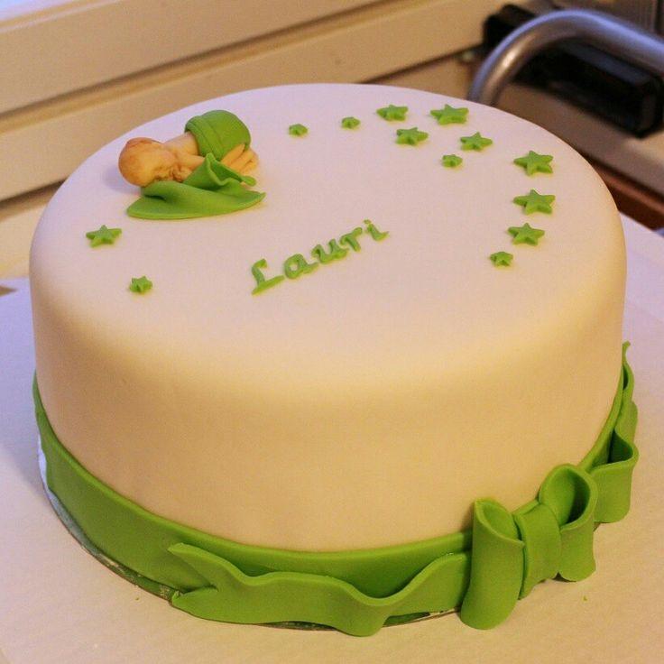 Christening cake boy