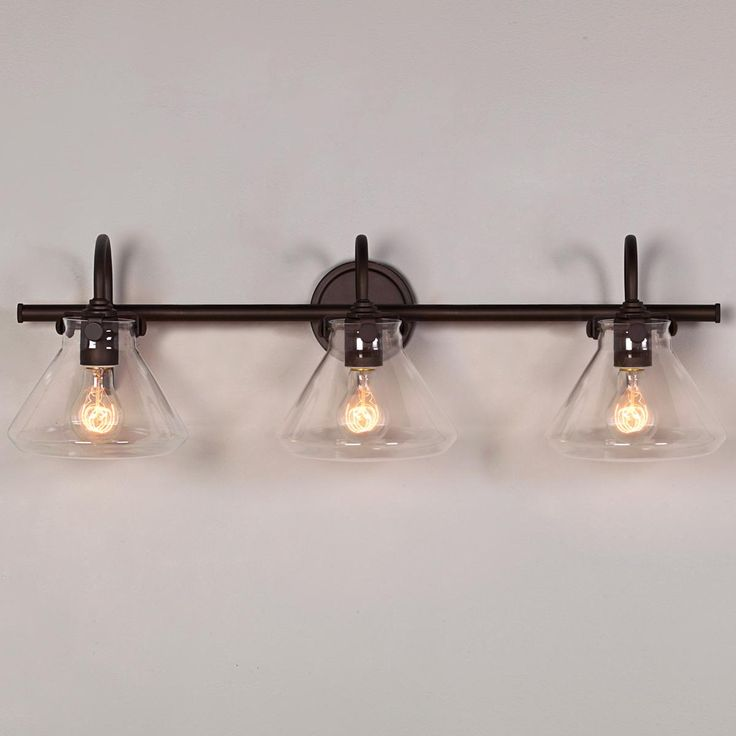 industrial bathroom lighting. beaker glass bath light 3 industrial bathroom lighting