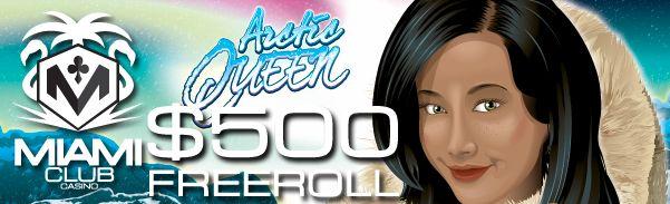 $500 Freeroll! MiamiClubCasino - adolphgambler