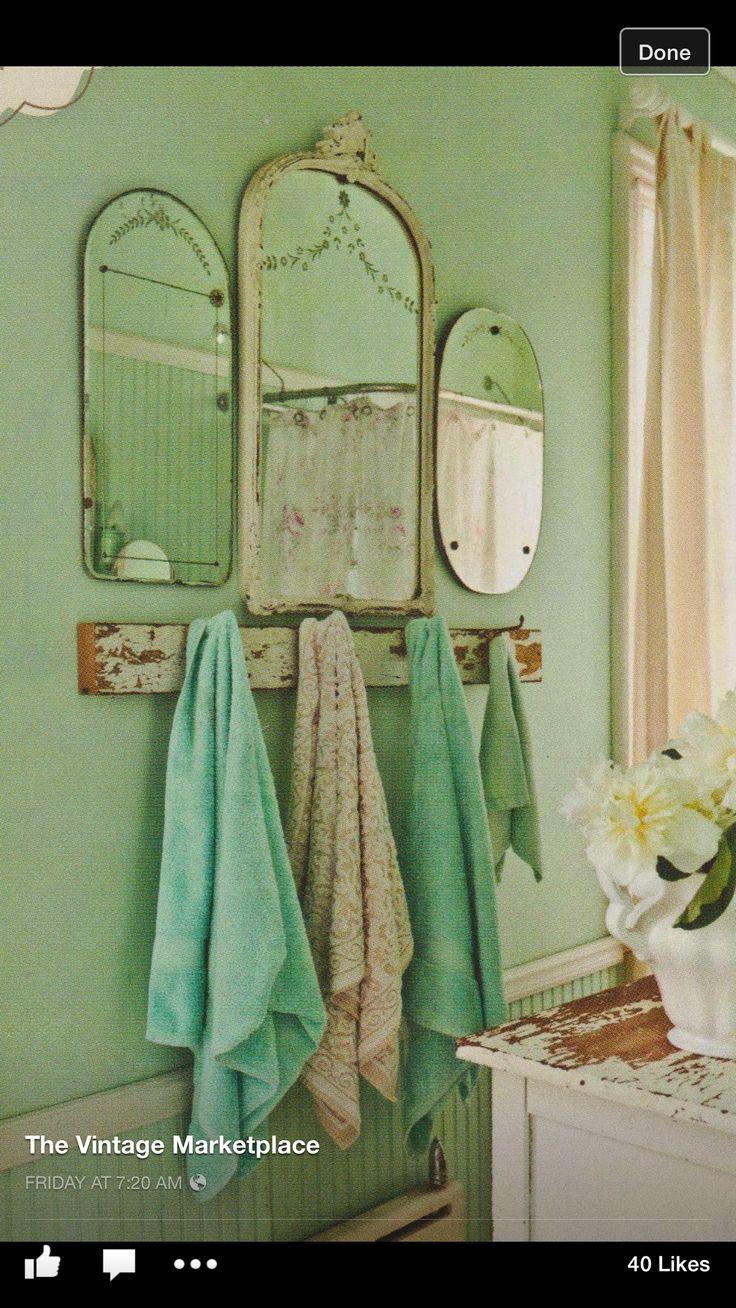Die besten 25 rustikale duschvorh nge ideen auf pinterest for Badezimmer wanddekoration