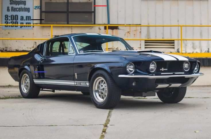 Unique 1967 Ford Mustang Shelby Gt500 Super Snake Sold At Auction