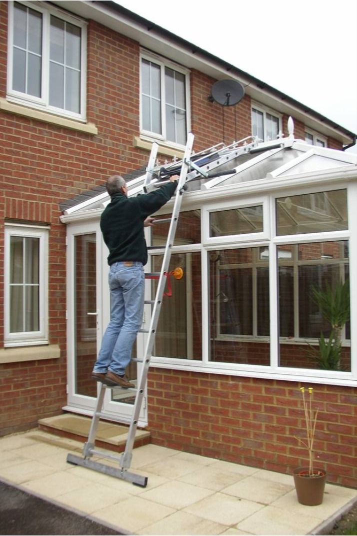 Conservatory Ladder Hire In 2020 Conservatory Ladder Conservatory Roof