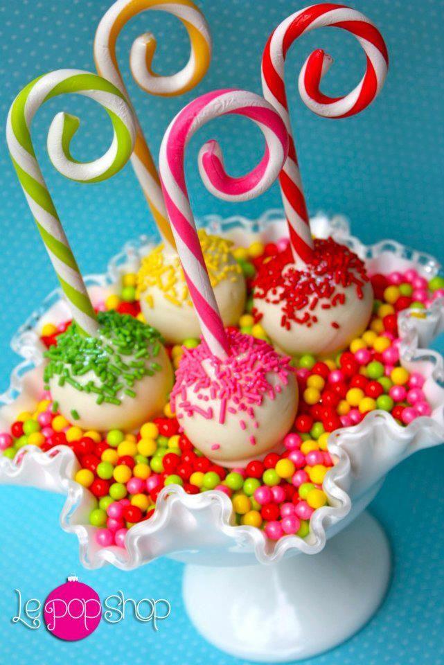 "Colorful Candy Cane Cupcake ""Pops"" ... FROM: http://media-cache-ec0.pinimg.com/originals/25/1b/8f/251b8f282095a92eebe70a353a8fb9d7.jpg"