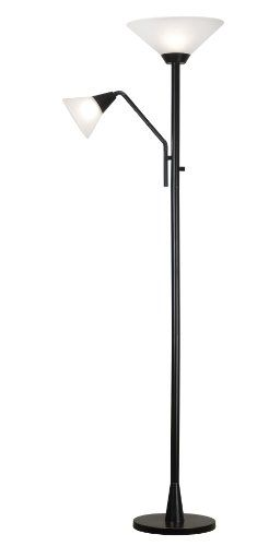 Kenroy Home 21002ORB Rush Torchiere, Oil Rubbed Bronze $98.04