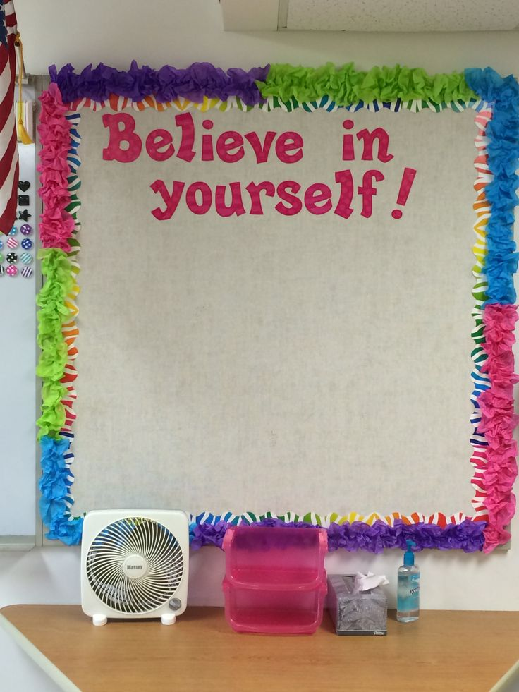 Classroom Design For Bulletin Board ~ Best ideas about tissue paper borders on pinterest