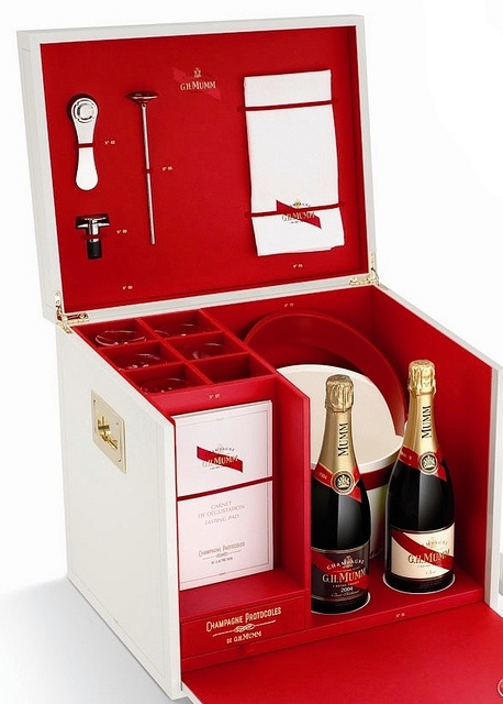 Champagne GH Mumm Deluxe Case