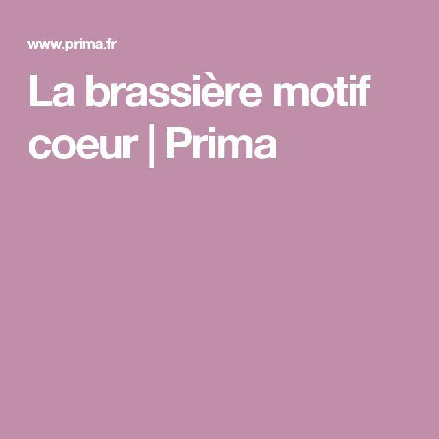 La brassière motif coeur | Prima