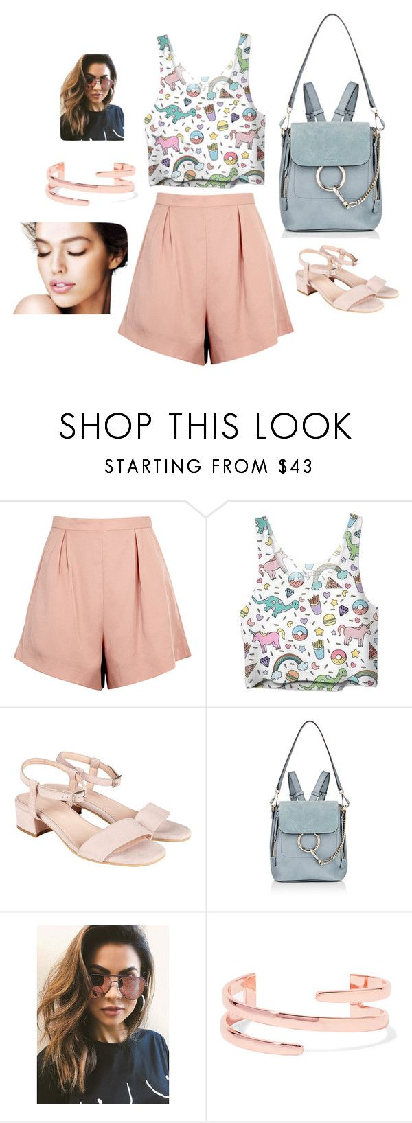 """""""Dance of Colors"""" by zeynepkilic889 on Polyvore featuring moda, Finders Keepers, Chloé, MINKPINK ve Kenneth Jay Lane"""