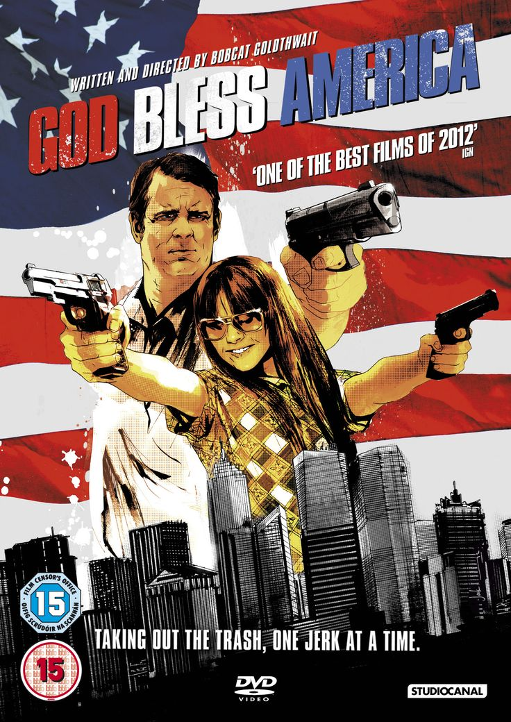 God Bless America (2011) R -  Stars: Joel Murray, Tara Lynne Barr, Mackenzie Brooke.  -  On a mission to rid society of its most repellent citizens, terminally ill Frank makes an unlikely accomplice in 16-year-old Roxy.  -  ACTION / COMEDY / CRIME