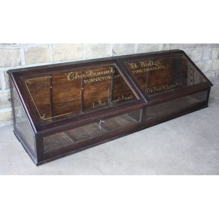 Antique counter-top display case | Shop Fittings | Andy Thornton - 86 Best Vintage Store Display Case Counter Images On Pinterest