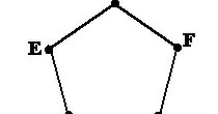 Cómo usar un compás para dibujar un pentágono. Un pentágono es cualquier polígono de cinco lados. Un pentágono simple tiene cinco ángulos internos iguales de 108º lo que suma un total de 540º. Hay algunos métodos para dibujar un pentágono simple. Una forma es usar un transportador para medir los ángulos para cada uno de los lados. Otra forma compleja implica la medición de ángulos internos. ...