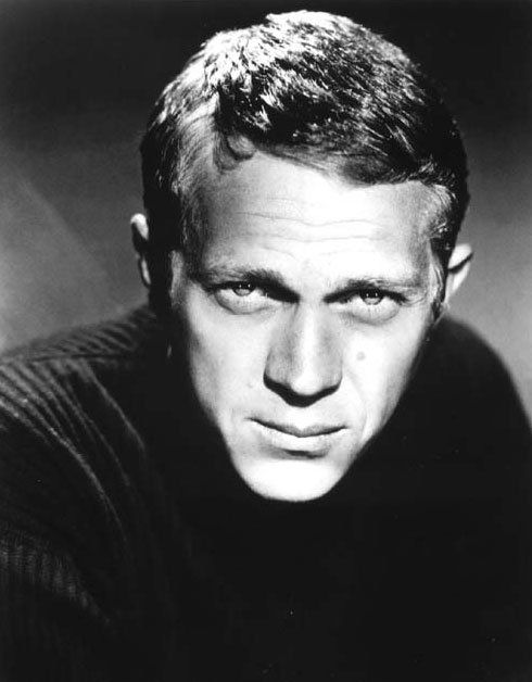 Steve McQueen - The King of Cool was a Marine, Actor, Race Car Driver, Motorcycle Racer, did a lot of his own stunts, trained with Bruce Lee, the highest paid man in Hollywood till he pretty much quit acting. He was also marked for death by Charles Manson. Women wanted him and guys wanted to be him. The manliest man ever died of cancer.