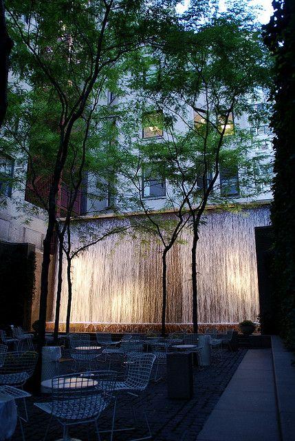 Paley Park, NYC. Visit the slowottawa.ca boards >> http://www.pinterest.com/