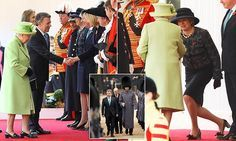 PM and the royals welcome Colombia's president Juan Manuel Santos
