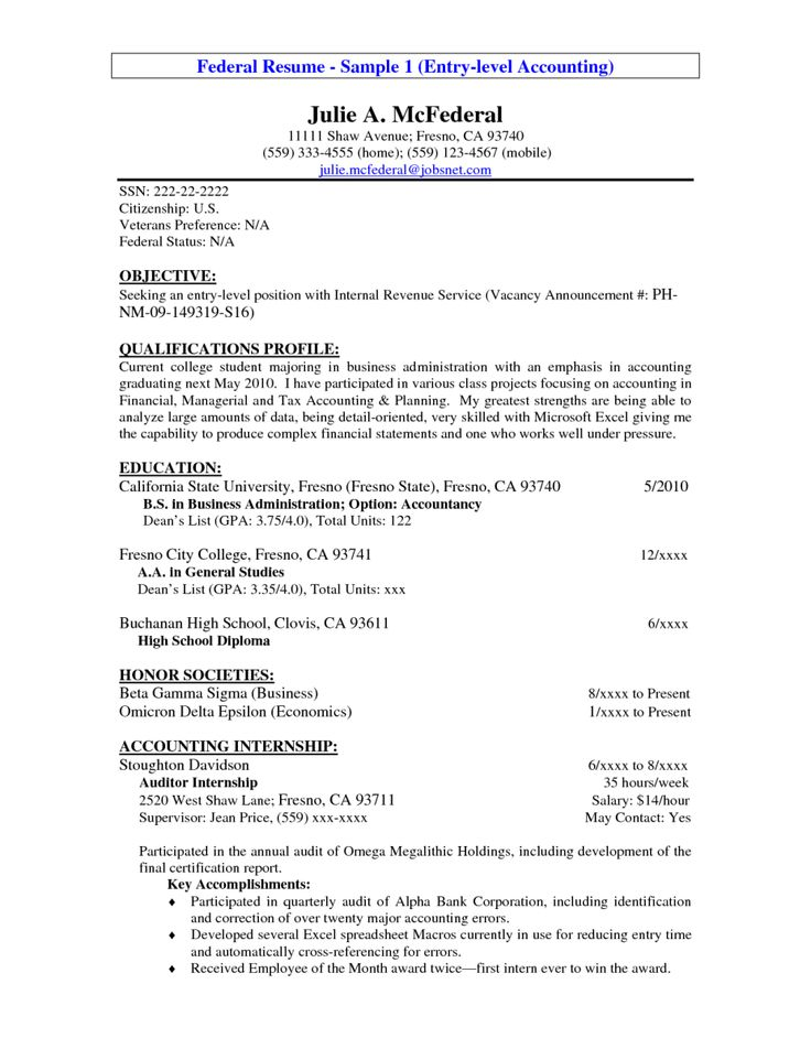 federal resume templates vpicuinfo federal resume sample
