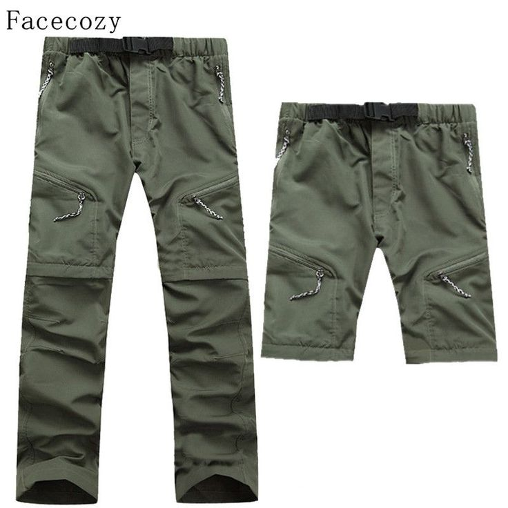 Facecozy Men Summer Removable Pants Outdoor Quick Dry Pants UV Protection Pants Breathable Fishing&Hunting Pants Male Plus Size $59.99   #dress #stylish #swag #fashionista #instalike #fashion #shopping #instafashion #sweet #cool #love #instastyle #model #glam #iwant