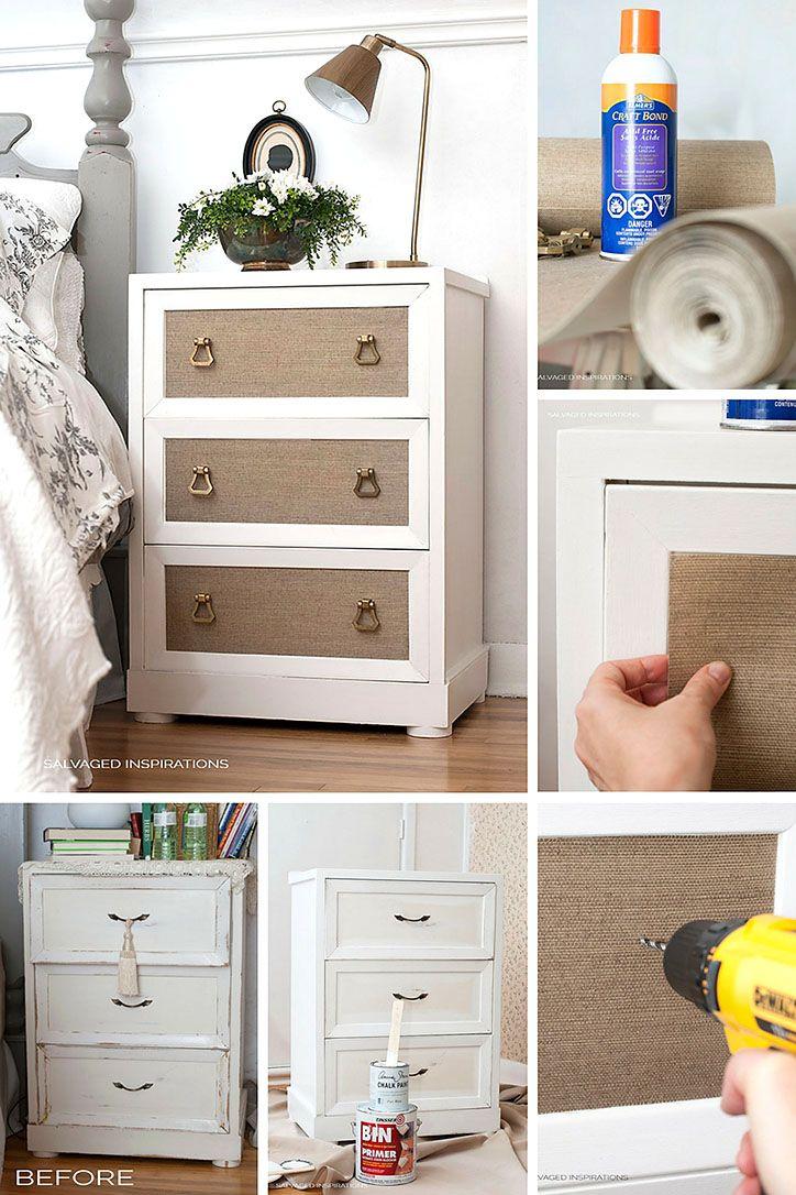 113 best wallpaper for furniture images on pinterest painted how to adding wallpaper to furniture sisterspd