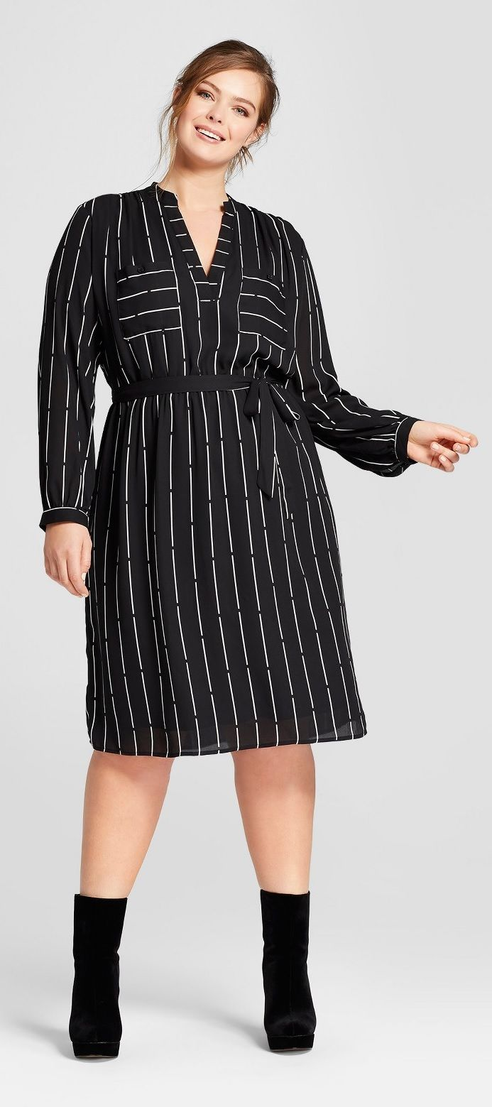 Plus Size Shirtdress