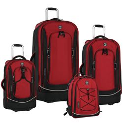 Timberland Claremont 4 piece Luggage Set: Available in 3 Colors. Free Shipping.