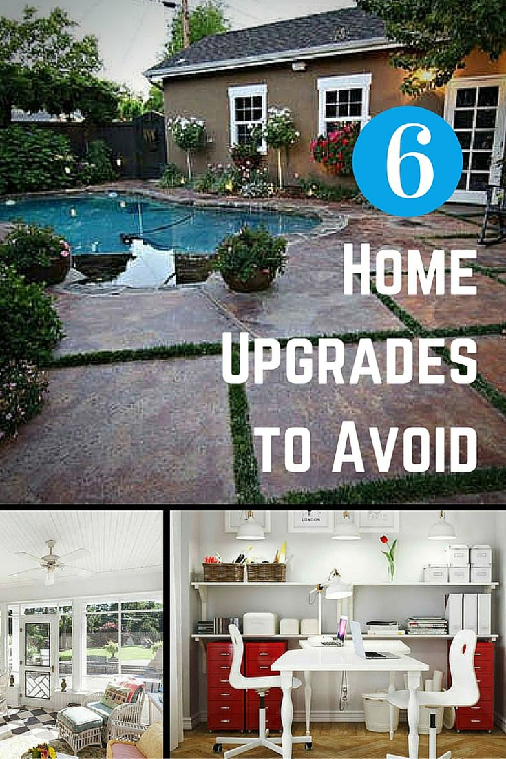 Some home improvement projects are worth the investment, and some are not. Find out which upgrades you won't get your money back on, and which will make your home less attractive to buyers.
