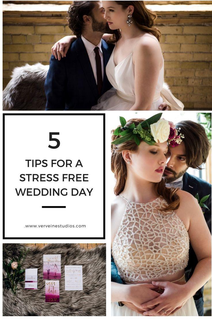 5 Tips for a stress free wedding day. Verveine Studios, Toronto Wedding Photograher