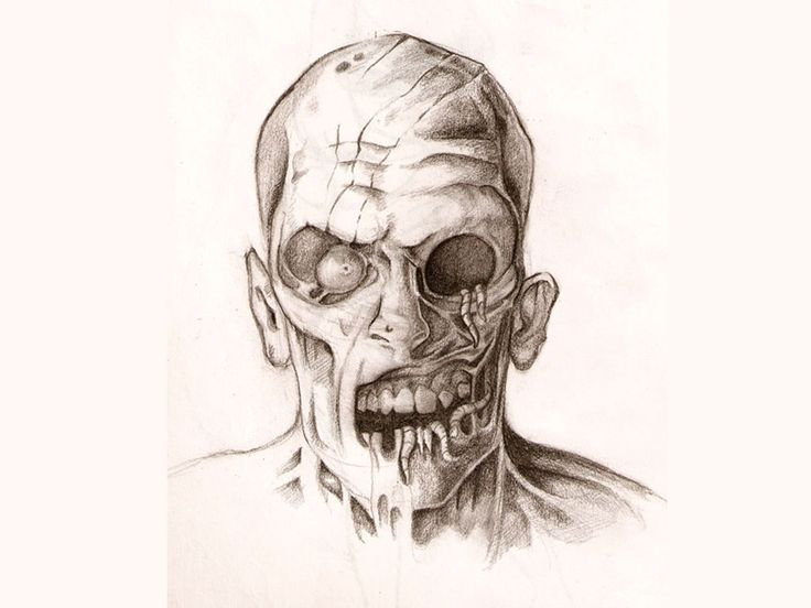 Zombie Face Line Drawing : 19 best half face evil clown tattoo images on pinterest design