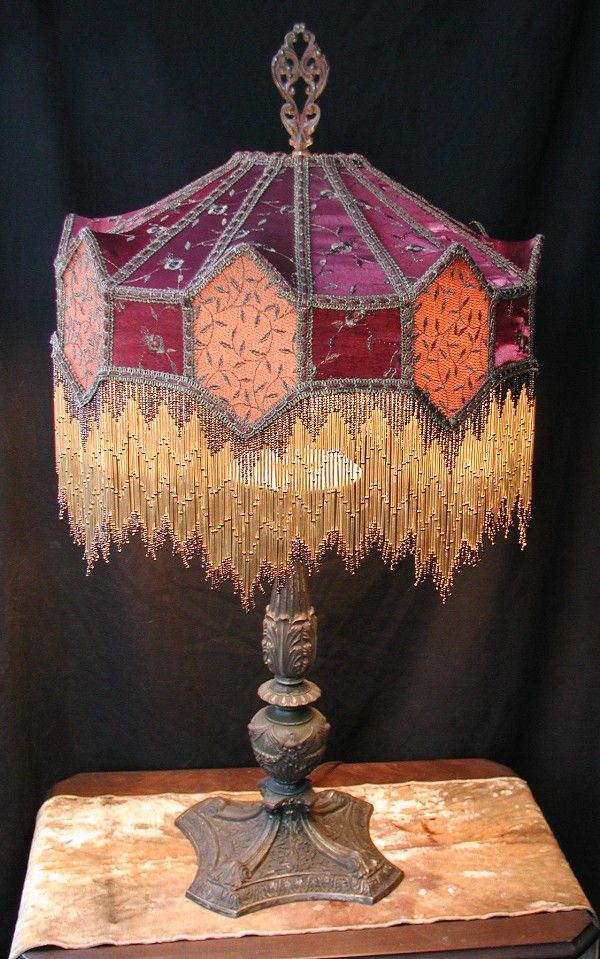 142 best victorian lampshades images on pinterest victorian lamps victorian lampshades custom made mozeypictures Gallery