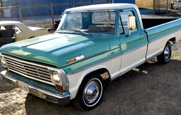 for sale 1967 ford f100 southern truck trips cars. Black Bedroom Furniture Sets. Home Design Ideas