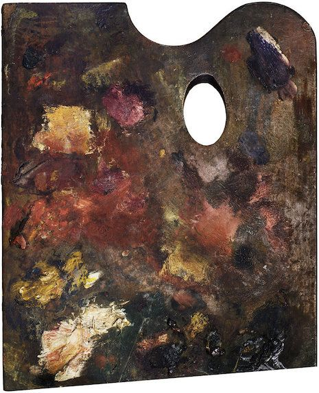 Palettes of Picasso, Matisse, Degas and Van Gogh are works of art unto themselves | Dangerous Minds