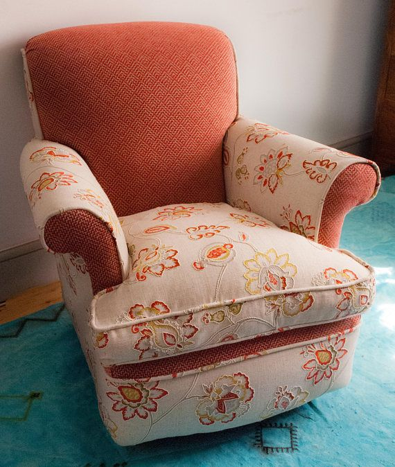 Vintage Armchair With Feather Seat Beautifully Restored