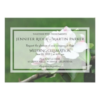 Rustic Garden Wedding Invitation Wedding Gifts Marriage Love