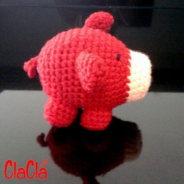 Marrano #claclá #amigurumi  #crochet  #hechoamano