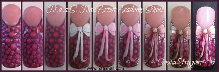 Fiocco nail art