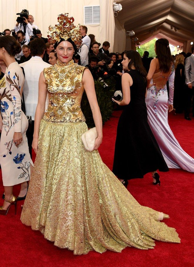 The Theme Of The Met Gala Is Not Just A Guide For Celebrities On What To Wear It S An Exhibition Thation Will L Met Gala Met Gala Red Carpet Celebrity Dresses