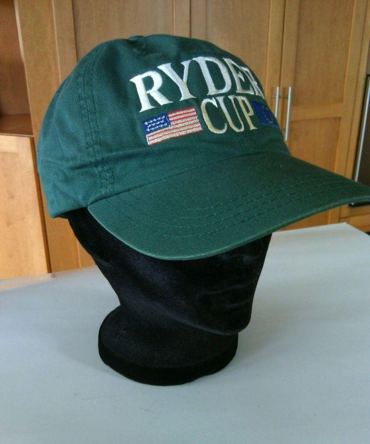 Baseball Cap PGA Tour Hat Oak Hill New York Ryder Cup Golf US European Teams Fit | eBay