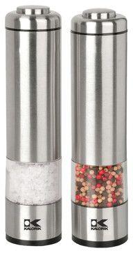 Modern Salt and Pepper Mills - contemporary - #kitchen tools - Kalorik