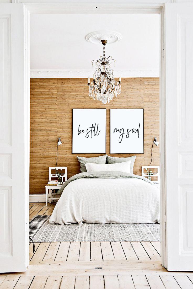 Be Still My Soul   Handwritten Bedroom Large Artwork. Best 20  Artwork above bed ideas on Pinterest   Scandinavian