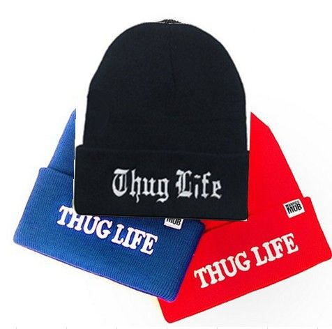 buy new married mob thug life cold cap beanie elastic knitted baseball hat baby