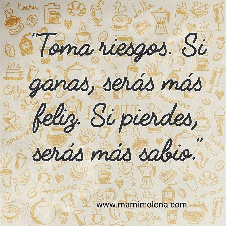 Toma riesgos.... #madres  #mamas  #bebes  #mamimolona